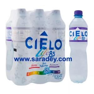 Agua Cielo Life sin gas  8.5 PH x 15 botellas