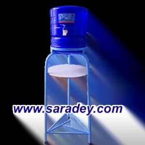 Base Metalica + Surtidor azul(dispensador) para bidon de agua mineral