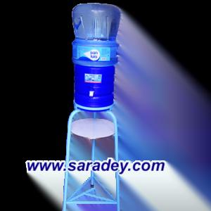Base Metalica + surtidor + envase + bidon de agua de mesa San Luis 20 Litros
