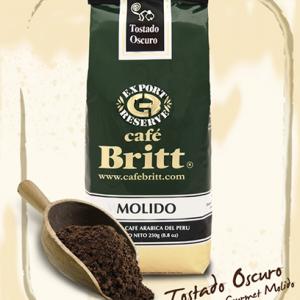 Café Britt 250 gr para pasar