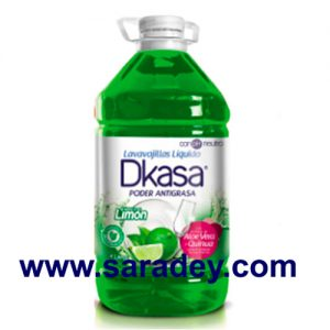 Lava vajilla Dkasa Líquido Limón 4 litros
