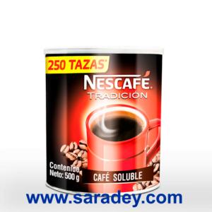 Cafe Nescafe Tradicion instantaneo 500 grs