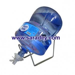 Soporte + Valvula + Envase + Bidon de Agua San Luis 20 Litros