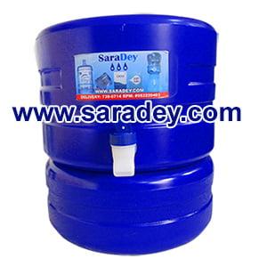 Surtidor o dispensador Azul para bidon de agua de 20 litros