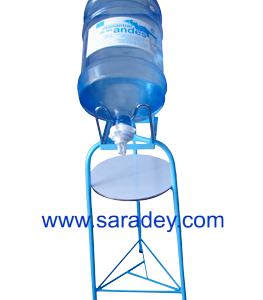 Base metalica + Sopote + Valvula + Agua mineral Manantial de los Andes 20 litros
