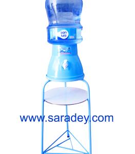Base metalica + Surtidor – Envase – Agua de mesa San Luis  20 litros