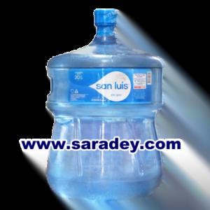Bidones de agua de mesa san Luis 20 litros retornable