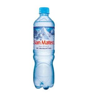 Agua mineral San Mateo sin gas 600 ml