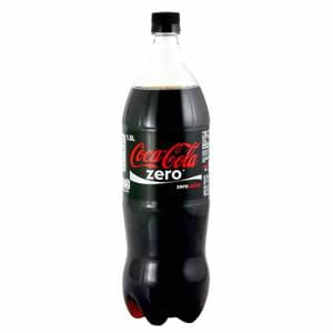 Gaseosa Coca Cola Zero 1.5 litros