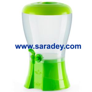 Dispensador Bio Life Con Tapa Caño hermético capacidad 5.75 L. marca REY plástico