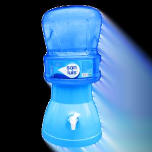 Surtidor celeste +  Envase + Agua San Luis 20 litros