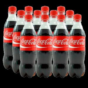 Gaseosa Coca Cola 500 ml x 12 u.