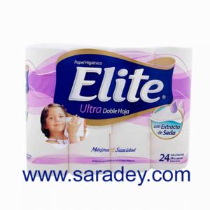 Papel Higienico Elite Ultra x 24 rollos