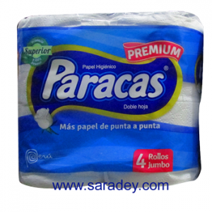 Papel Higiénico paracas Premium x 4