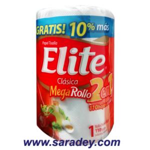 Papel Toalla Elite megarollo 110 hojas