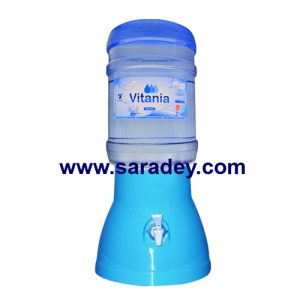 Surtidor +  Envase + Agua Vitania 20 litros