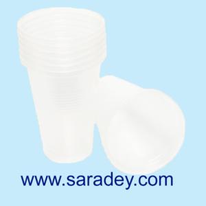 Vasos Plásticos 6 Onzas x 100 Und